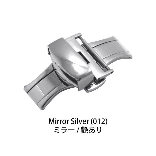 腕時計 バックル 時計 Dバックル 観音開き 両開き ステンレススチール 12mm 14mm 16mm 18mm 20mm 22mm CASSIS カシス PBF D-BUCKLE 304 PBF304|mano-a-mano|02