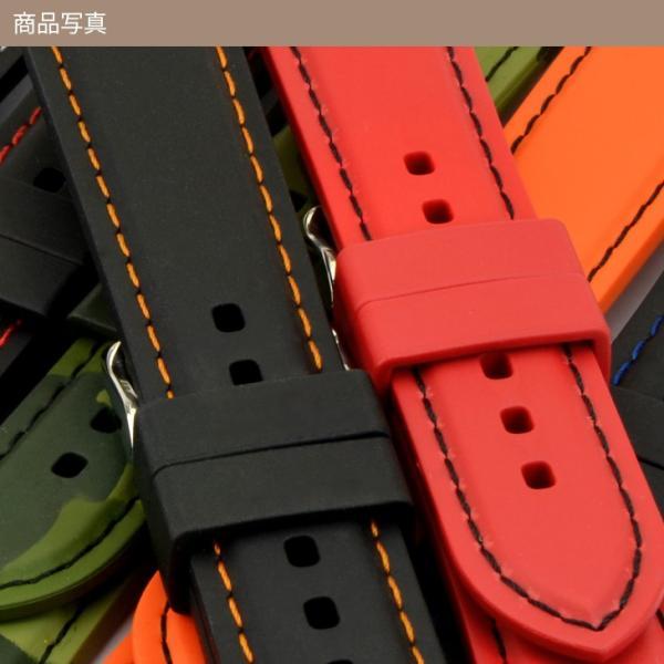 時計 ベルト 腕時計ベルト バンド ラバー 完全防水 CASSIS カシス GAZZO ガッツォ u0000325 20mm|mano-a-mano|04