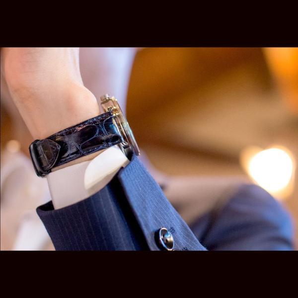 時計 ベルト 時計ベルト アリゲーター ワニ 裏面防水 CASSIS ADONARA CAOUTCHOUC SHINY アドナラカウチックシャイニー u0036b68 18mm 19mm 20mm 21mm 22mm|mano-a-mano|05