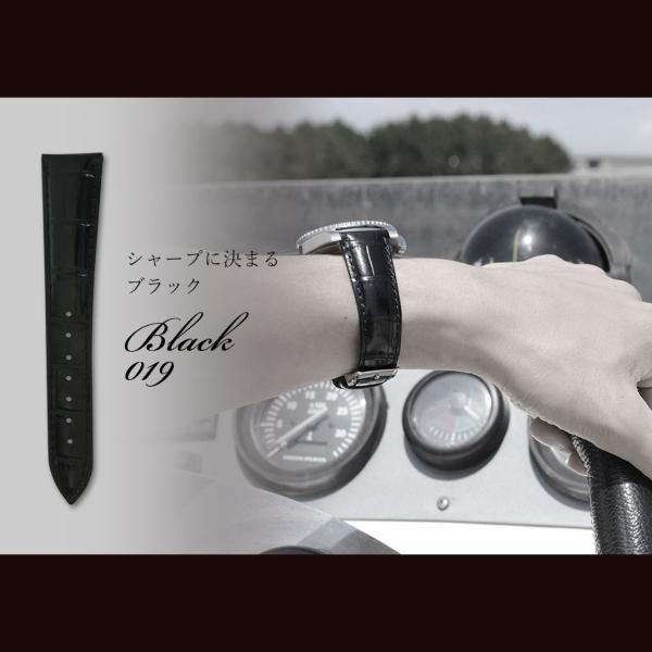 時計 ベルト 腕時計ベルト バンド  カーフ 牛革 CASSIS カシス MULHOUSE ミュールズ U0040656 18mm 19mm 20mm 22mm|mano-a-mano|06