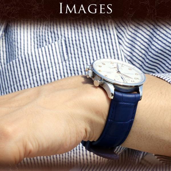 時計 ベルト 腕時計ベルト バンド  ラバー CASSIS カシスCAOUTCHOUC CROCO カウチッククロコ U0043001 18mm 20mm 22mm mano-a-mano 07
