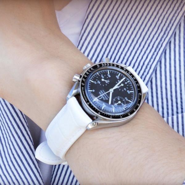 時計 ベルト 腕時計ベルト 防水 腕時計 時計バンド ラバー 完全防水 18mm 20mm 22mm カシス CASSIS CAOUTCHOUC CROCO カウチック あすつく|mano-a-mano|08