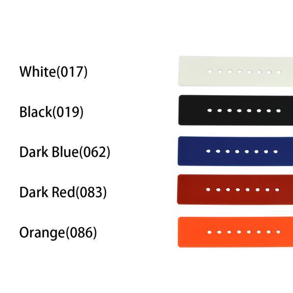 腕時計ベルト バンド 交換 シリコン メンズ 22mm 20mm 18mm CASSIS TROYES U0100465|mano-a-mano|02