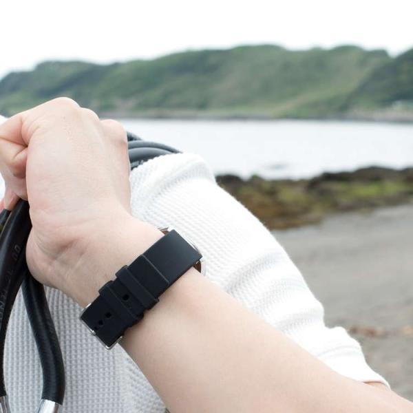 腕時計ベルト バンド 交換 シリコン メンズ 22mm 20mm 18mm CASSIS TROYES U0100465|mano-a-mano|10