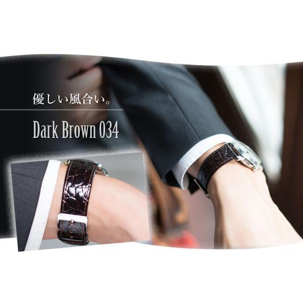 時計 ベルト 腕時計ベルト バンド  カーフ 牛革 CASSIS カシス BRISTOL ブリストール u1004208 12mm 14mm 16mm 18mm 20mm|mano-a-mano|06