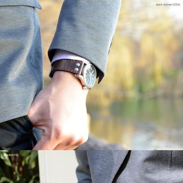 時計 ベルト 腕時計ベルト バンド カーフ 牛革 生活防水 CASSIS カシス KOMOD コモド u1009309 18mm 20mm 22mm|mano-a-mano|05