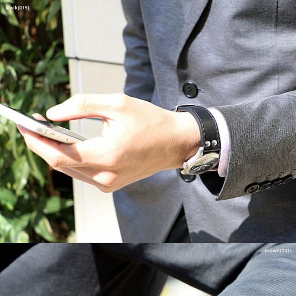 時計 ベルト 腕時計ベルト バンド カーフ 牛革 生活防水 CASSIS カシス KOMOD コモド u1009309 18mm 20mm 22mm|mano-a-mano|06