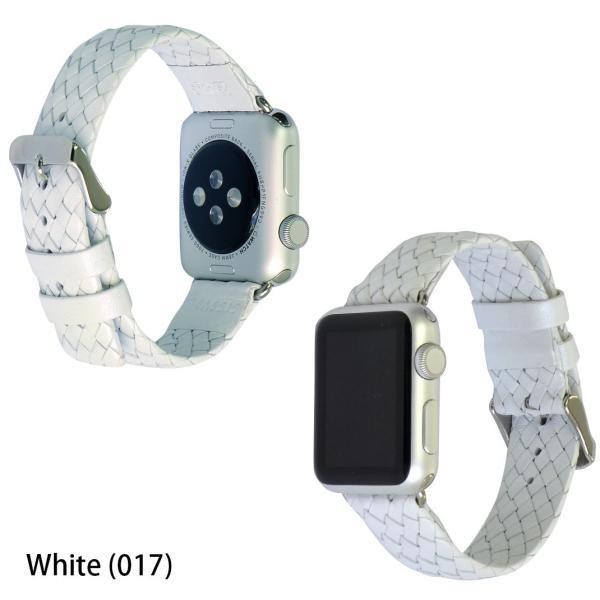 アップル社認定パーツ付バンド アップルウォッチ 38mm用 専用バンド カシス製 腕時計ベルト バンド  MAUI(マウイ)  腕時計ベルト バンド mano-a-mano 04