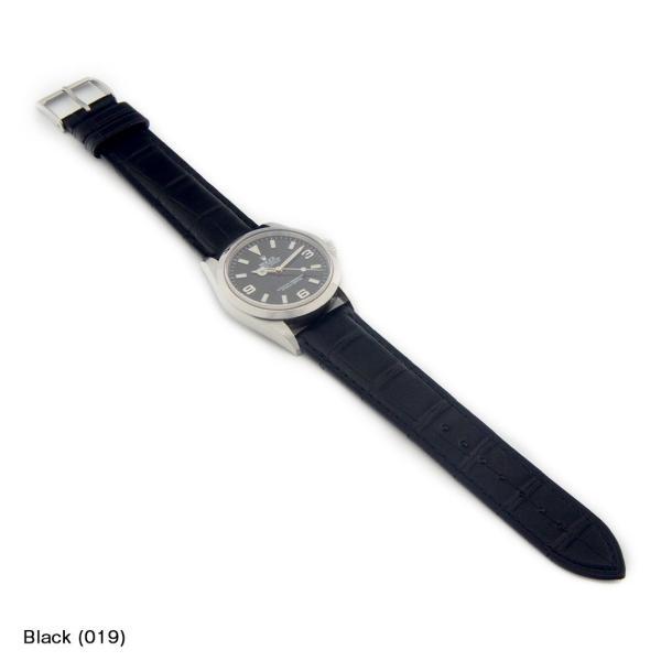 brand new b1e60 aea0e ロレックス エクスプローラー 用 ROLEX Explorer にぴったりの時計ベルト CASSIS カシス ADONARA CAOUTCHOUC  U1017A70 裏面防水 | 時計ベルト 時計 バンド 交換