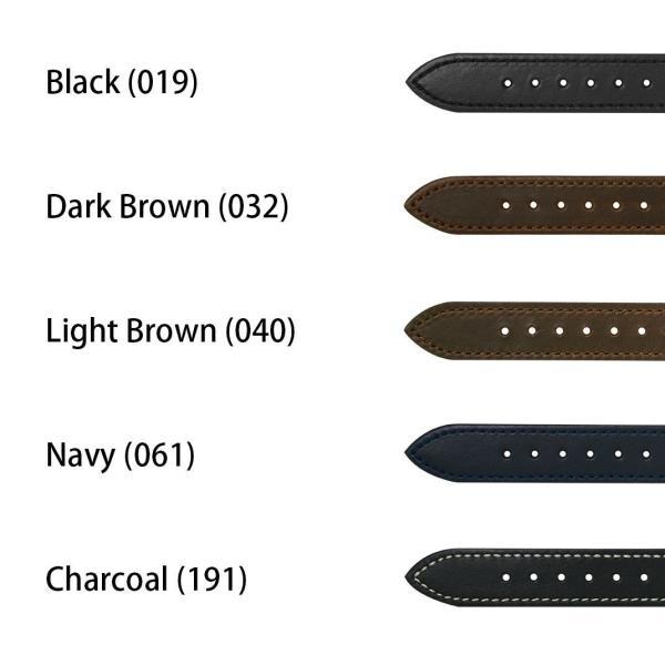 腕時計ベルト バンド 交換 牛革 メンズ 20mm 19mm 18mm 16mm CASSIS LAVAL U1032966|mano-a-mano|02