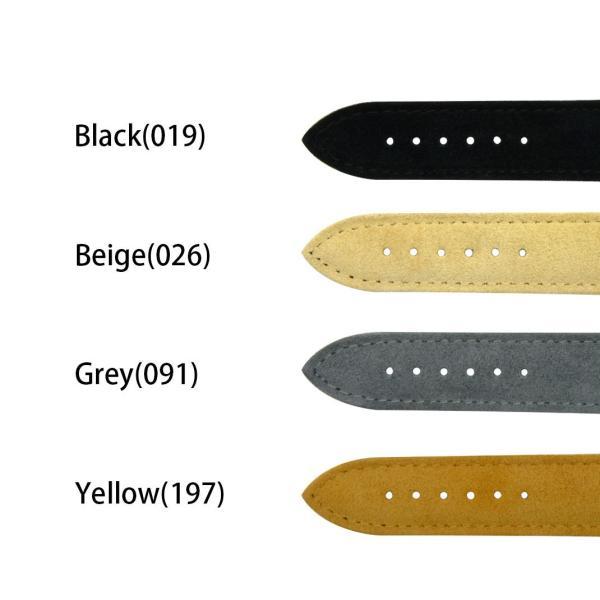時計 ベルト 腕時計ベルト バンド ヌバック 裏面防水素材 CASSIS カシス AUXERRE オセール U1035B94 18mm 20mm|mano-a-mano|02