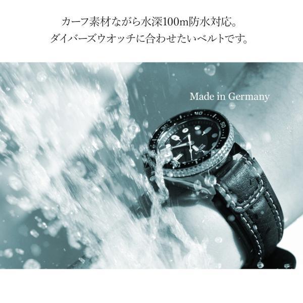 腕時計ベルト バンド 交換 牛革 カーフ 24mm 22mm 20mm 18mm CASSIS NURNBERG U1105087|mano-a-mano|05