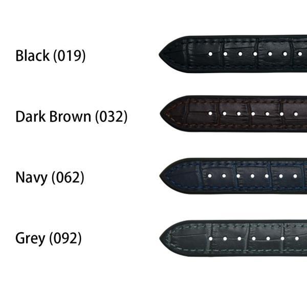 腕時計ベルト バンド 交換 牛革 メンズ 22mm 20mm CASSIS ROCHELAIS GRAIN U1128SA1|mano-a-mano|02