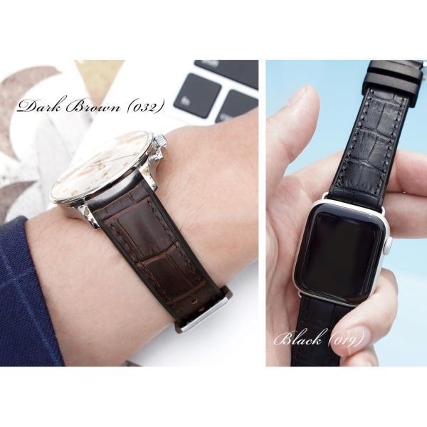 腕時計ベルト バンド 交換 牛革 メンズ 22mm 20mm CASSIS ROCHELAIS GRAIN U1128SA1|mano-a-mano|06