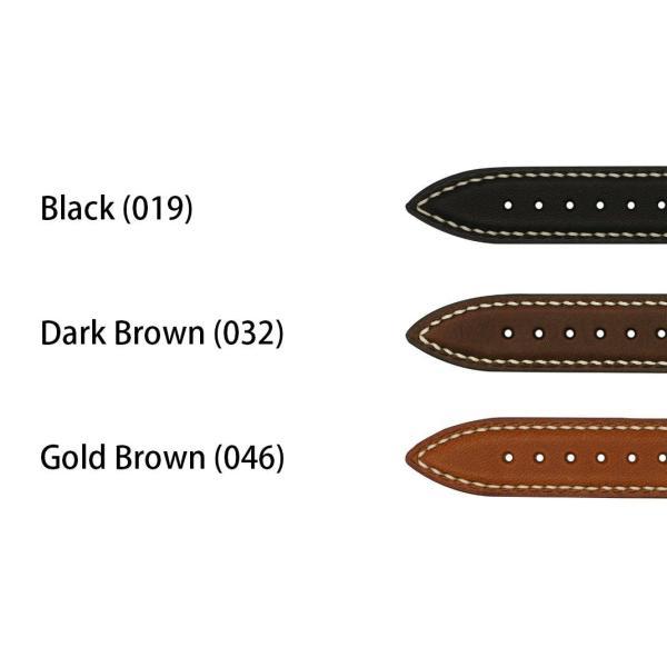 腕時計ベルト バンド 交換 カーフ(牛革) メンズ 20mm 18mm CASSIS STRASBOURG U1129PBA|mano-a-mano|02