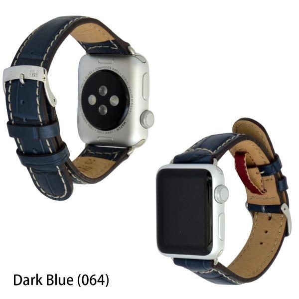 アップル社認定パーツ付バンド アップルウォッチ 38mm 40mm 42mm 44mm 専用バンド イタリア モレラート 社製腕時計ベルト GUTTUSO(グットゥーゾ)  時計ベルト|mano-a-mano|04