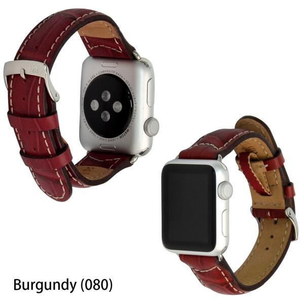 アップル社認定パーツ付バンド アップルウォッチ 38mm 40mm 42mm 44mm 専用バンド イタリア モレラート 社製腕時計ベルト GUTTUSO(グットゥーゾ)  時計ベルト|mano-a-mano|05