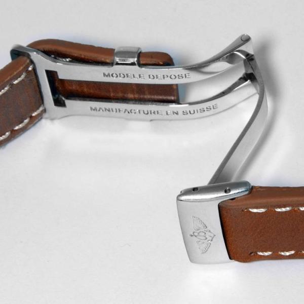 腕時計ベルト バンド 交換 牛革 ブライトリング用 22mm 20mm CASSIS TYPE BRE-D UBBRE001 mano-a-mano 03