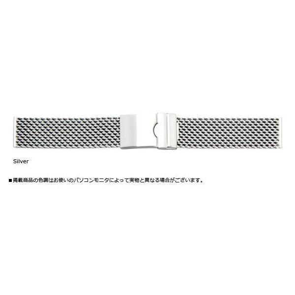 時計 ベルト 腕時計ベルト バンド  ステンレススチール CASSIS カシス Mesh Mirror Thick メッシュミラーシック v04070h4 20mm mano-a-mano 02