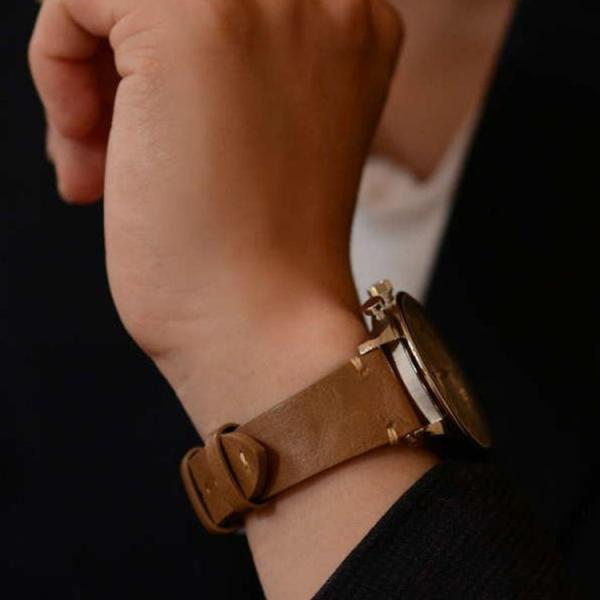 時計 ベルト交換 腕時計 バンド 交換ベルト メンズ カーフ 牛革 本革 裏面防水 カシス GRENOBLE x0031331 18mm 20mm 22mm 交換用工具 交換用工具つき|mano-a-mano|08