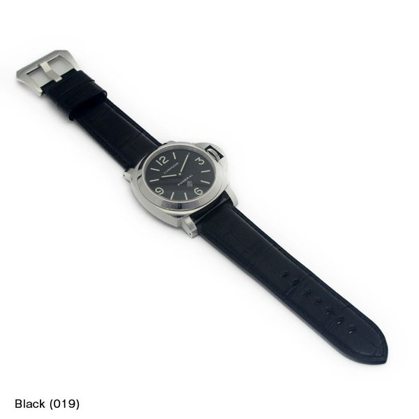 パネライ ルミノール PANERAI Luminor にぴったりの時計ベルト CASSIS カシス TYPE PNR ALLIGATOR X0035339 裏面防水素材 | 時計ベルト 時計 バンド 交換|mano-a-mano|04