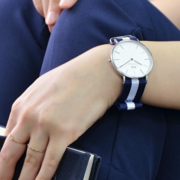 時計 ベルト 腕時計ベルト バンド  ダニエルウェリントン用ベルト 時計バンド ナイロン TYPE NATO LOOP タイプナトーループ X0037A74 18mm 20mm|mano-a-mano|08