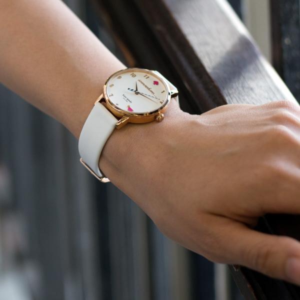 腕時計ベルト バンド 交換 牛革 Kate Spade ケイトスペード用 CASSIS LOIRE X1026H19K|mano-a-mano|09