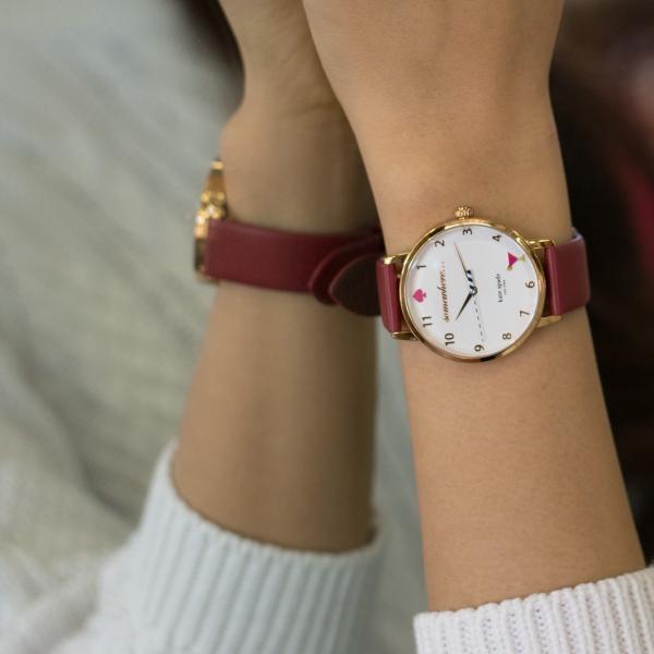腕時計ベルト バンド 交換 牛革 Kate Spade ケイトスペード用 CASSIS LOIRE X1026H19K|mano-a-mano|10