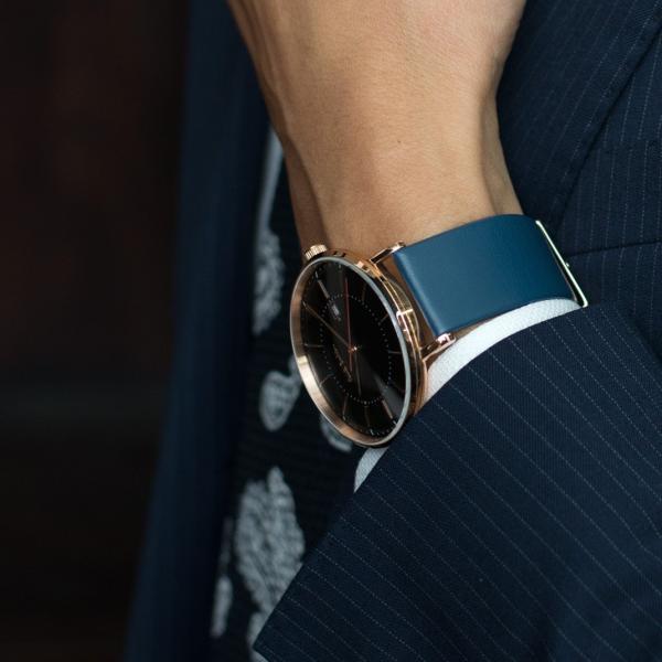 時計 ベルト 腕時計ベルト バンド  ポールスミス Paul Smith 41mm用 時計バンド カーフ 牛革 裏面防水素材 CASSIS カシス LOIRE ロワール x1026h19p 20mm|mano-a-mano|12