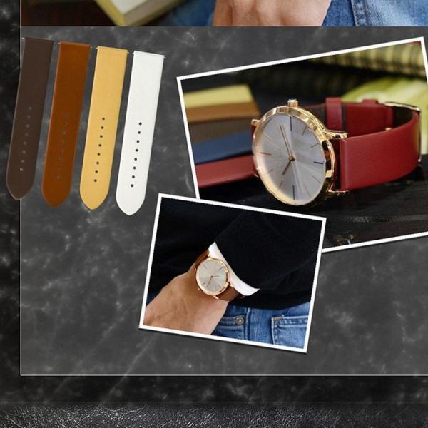 時計 ベルト 腕時計ベルト バンド  ポールスミス Paul Smith 41mm用 時計バンド カーフ 牛革 裏面防水素材 CASSIS カシス LOIRE ロワール x1026h19p 20mm|mano-a-mano|08