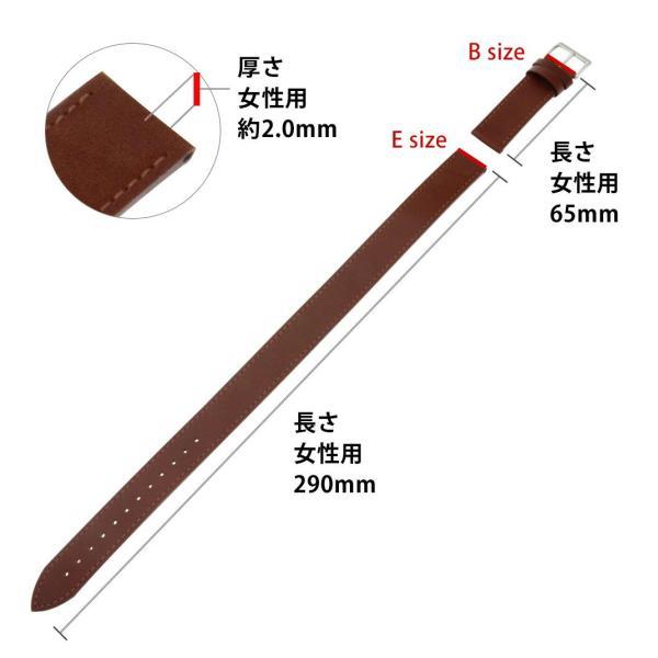 時計 ベルト 腕時計ベルト バンド  カーフ 牛革 CASSIS カシス TOURS トゥール X1077340 14mm 16mm 18mm|mano-a-mano|03