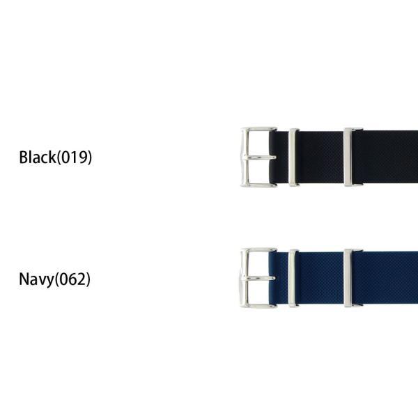 時計 ベルト 腕時計ベルト バンド シリコン 完全防水 CASSIS カシス TYPE NATO RUBBER タイプナトーラバー 替えバンド 交換 シリコンベルト X1115465 22mm|mano-a-mano|02