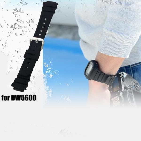 腕時計ベルト バンド 交換 シリコン カシオ G-Shock用 16mm CASSIS TYPE GSK X1117465|mano-a-mano|09