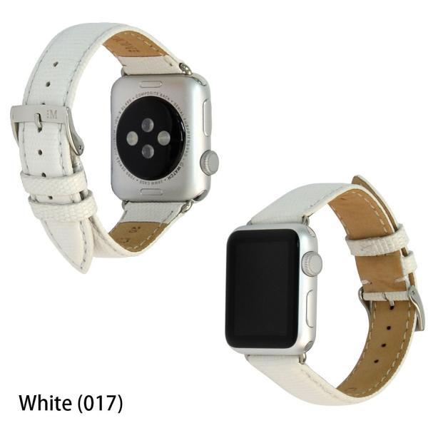アップル社認定パーツ付バンド アップルウォッチ 38mm 40mm 専用バンド イタリア モレラート 社製腕時計ベルト バンド   VIOLINO(ビオリノ)  腕時計ベルト|mano-a-mano|04