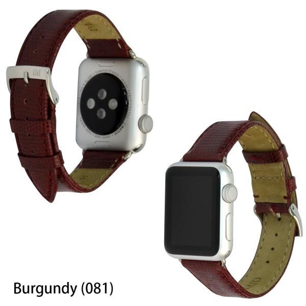 アップル社認定パーツ付バンド アップルウォッチ 38mm 40mm 専用バンド イタリア モレラート 社製腕時計ベルト バンド   VIOLINO(ビオリノ)  腕時計ベルト|mano-a-mano|05