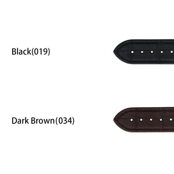 オメガ(OMEGA) 用 ベルト アリゲーター ワニ革 裏面防水素材 CASSIS カシス TYPE OMG タイプ オーエムジー X2308339 18mm 20mm 時計 バンド 時計バンド|mano-a-mano|02