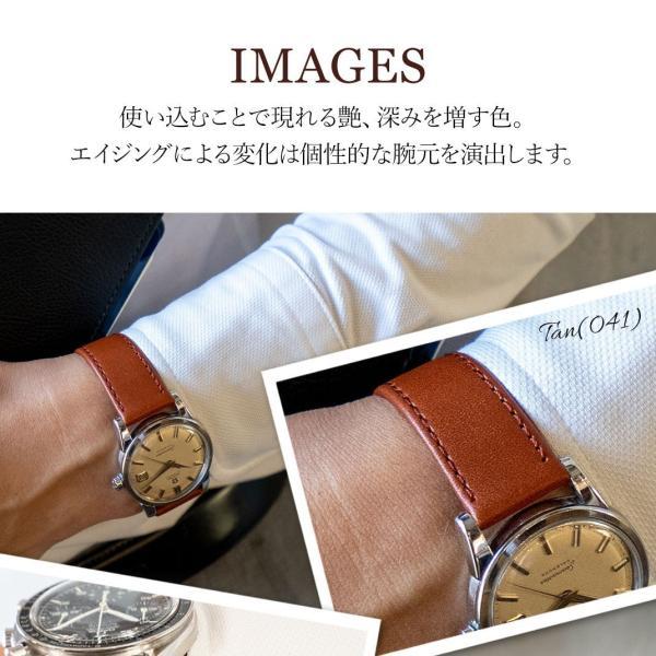 腕時計ベルト バンド 交換 牛革 20mm 18mm 16mm 14mm 12mm MORELLATO AGILA X3425695|mano-a-mano|07