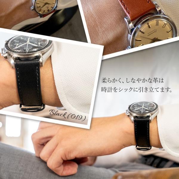 腕時計ベルト バンド 交換 牛革 20mm 18mm 16mm 14mm 12mm MORELLATO AGILA X3425695|mano-a-mano|08
