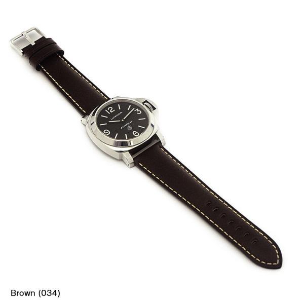 パネライ ルミノール PANERAI Luminor  にぴったりの時計ベルト MORELLATO モレラート MASACCIO X4808B71   時計ベルト 時計 バンド 交換 mano-a-mano 04