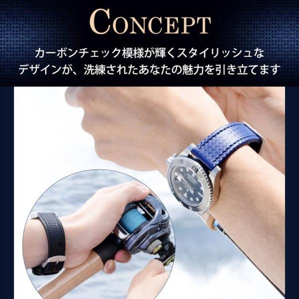 時計 ベルト 腕時計ベルト バンド ラバー カーボン型押し 生活防水 MORELLATO モレラート CAPOEIRA カポエイラ X4907977 18mm 20mm 22mm|mano-a-mano|05