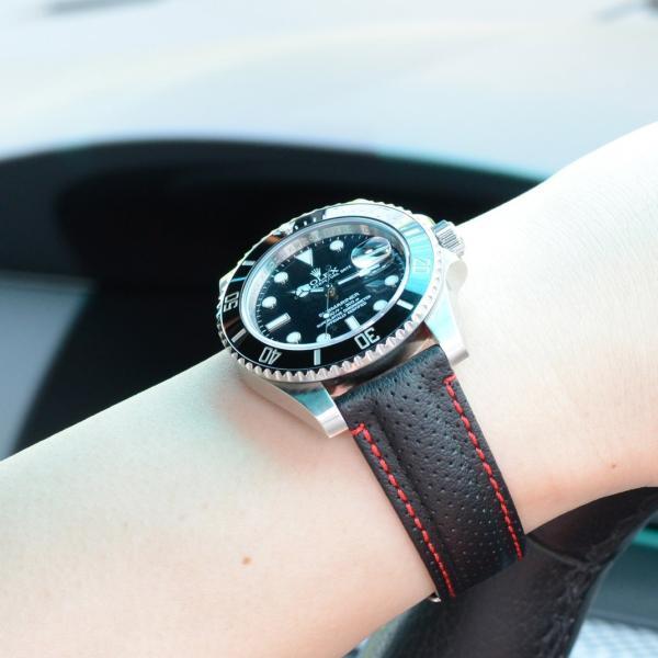 時計 ベルト 腕時計ベルト バンド シンセティックレザー 生活防水 MORELLATO モレラート RACE レース X4909C18 18mm 20mm 22mm|mano-a-mano|09