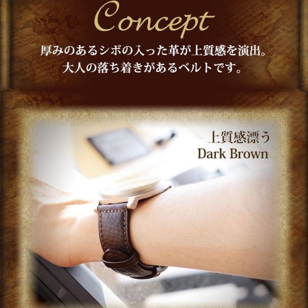 腕時計ベルト バンド 交換 牛革 28mm 26mm 24mm 22mm 20mm MORELLATO PANAMERA X4938C22|mano-a-mano|05