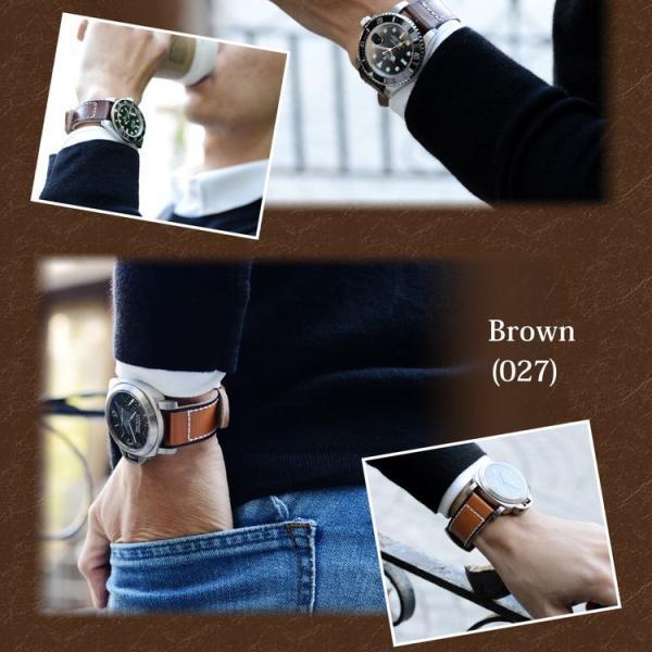 時計 ベルト 腕時計ベルト バンド  カーフ(牛革) MORELLATO モレラート MONDRIAN モンドリアン x5042c43 20mm 22mm 24mm|mano-a-mano|08