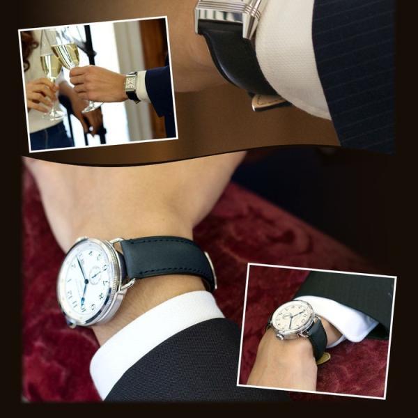 腕時計ベルト バンド 交換 牛革 メンズ 22mm 20mm 18mm MORELLATO LEVY X5045A61|mano-a-mano|08