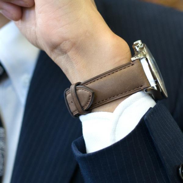 腕時計ベルト バンド 交換 牛革 メンズ 22mm 20mm 18mm MORELLATO LEVY X5045A61|mano-a-mano|10
