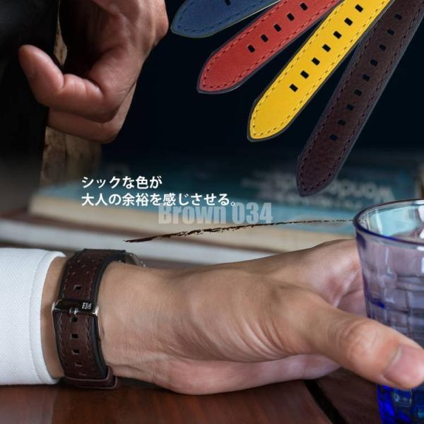 時計 ベルト 腕時計ベルト バンド カーフ(牛革) 生活防水 MORELLATO モレラート FLYBOARD フライボード X5121712 20mm 22mm|mano-a-mano|08