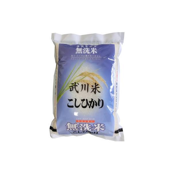 新米 無洗米 5kg コシヒカリ 山梨県産 無洗米 武川米 令和3年産