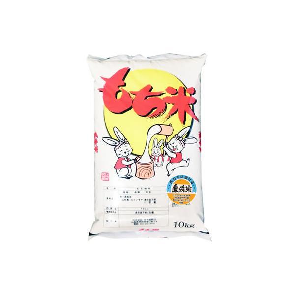 【事業所配送(個人宅不可)】 【予約販売】新米 無洗米 令和3年産 もち米 山形県産ヒメノモチ 白米 10kg