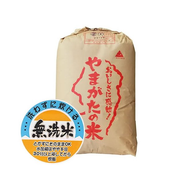 【事業所配送(個人宅不可)】 新米 無洗米 令和3年産 もち米 山形県産 ヒメノモチ 精米30kg