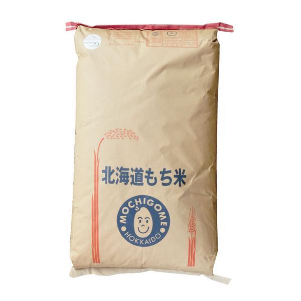 玄米30kg はくちょうもち 1等 北海道産 もち米 令和2年産  【事業所配送(個人宅不可)】【精米料無料】